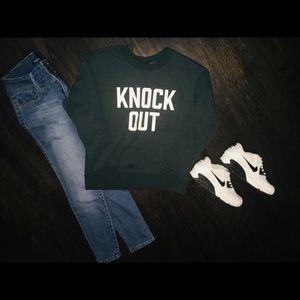 KNOCK OUT Sweatshirt from Banana Republic.
